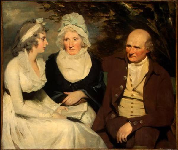 John Johnstone Betty Johnstone and Miss Wedderburn